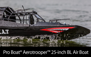 Pro Boat Aerotrooper 25 Brushless Air Boat RTR