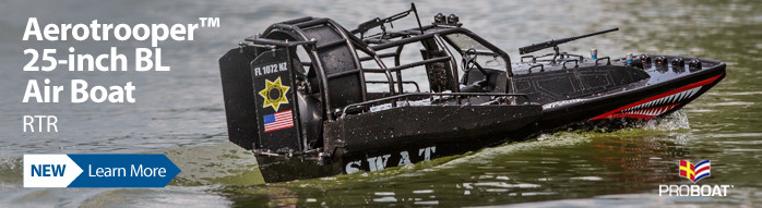 New! Pro Boat Aerotrooper 25-inch Brushless Air Boat