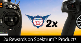 Earn 2x Rewards on all Spektrum Products through July 31, 2018