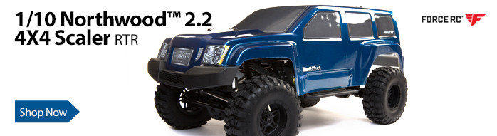 Force RC 1/10 Northwood 2.2 Scaler Brushed 4X4 RTR