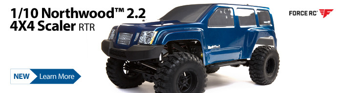 New! Force RC 1/10 Northwood Scaler Brushed 4WD RTR