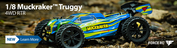Force RC 1/8 Muckraker 4WD Brushless Truggy RTR FCES04001