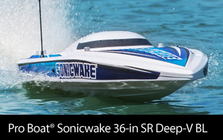 Pro Boat Sonicwake 36-inch Deep-V Self-Righting RTR