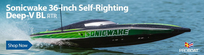 Pro Boat Sonicwake 36 Self-Righting Brushless Deep-V RTR