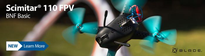 New! Blade Scimitar 110 FPV BNF Basic Drone