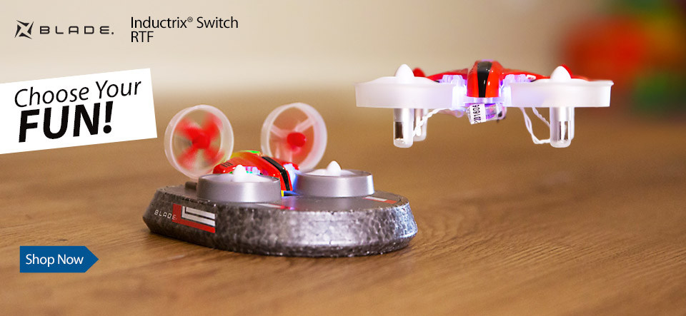 In Stock Blade Inductrix Switch RTF