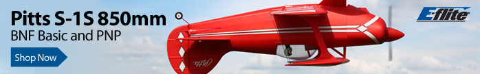 E-flite Pitts S-1S 850mm Scale Civilian Aerobatic Biplane