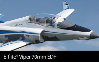 E-flite Viper 70mm EDF BNF Basic & PNP