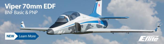 New! E-flite Viper 70mm EDF Sport Jet
