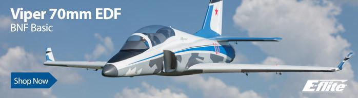 E-flite Viper 70mm EDF Sport Jet