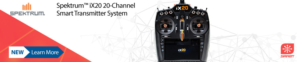 New! Spektrum iX20 20 Channel Transmitter