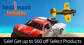 Heat Wave Holiday Sale - Instantly save up to $60 on select RC products through July 30, 2018