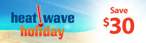 Heat Wave Holiday Sale - Instantly save $30 on select RC products through July 30, 2018 - Click to see more deals