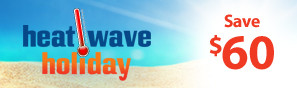 Heat Wave Holiday Sale - Instantly save $60 on select RC products through July 30, 2018 - Click to see more deals