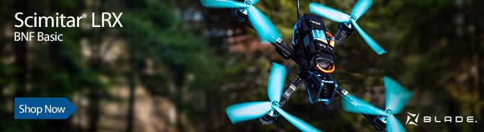 Blade Scimitar LRX BNF Basic FPV Racing Drone