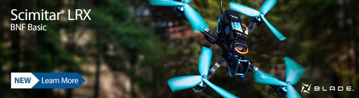 Blade Scimitar LRX BNF Basic FPV Quadcopter