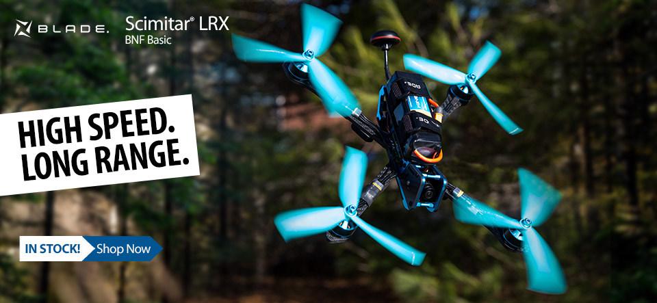 Blade Scimitar LRX FPV Quadcopter