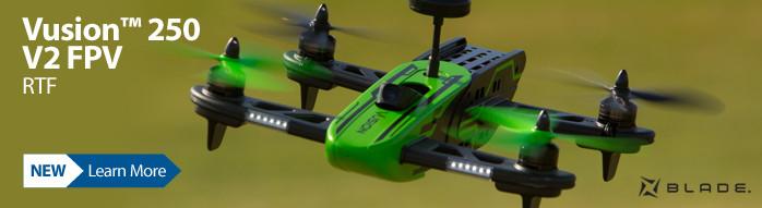 Blade Vusion 250 V2 FPV RTF FPV Race Quadcopter