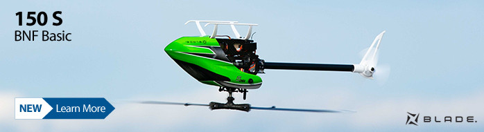 New! Blade 150 S BNF Basic
