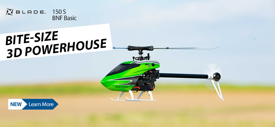 Blade 150 S BNF Basic Helicopter
