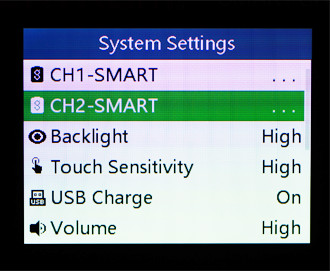 Battery Vitals Example Screen 1