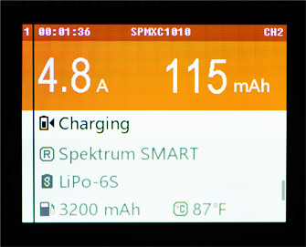 Battery Vitals Example Screen 2