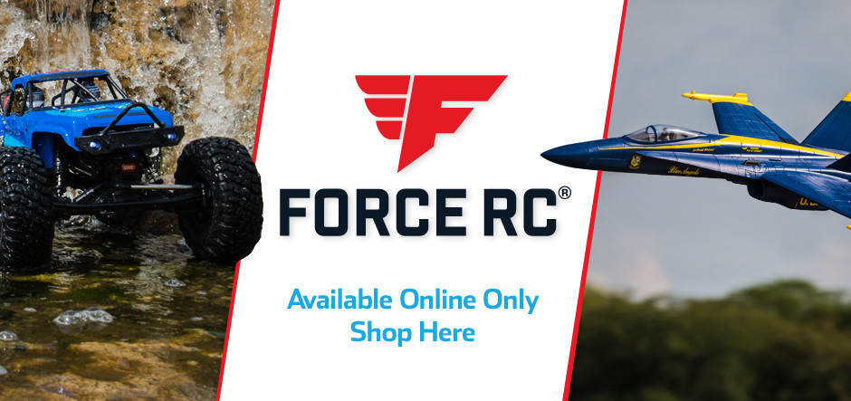 Force RC Airplanes, Vehicles, Parts and Accessories - A Horizon Hobby Online-Exclusive Brand