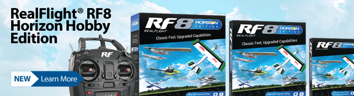 New! RealFlight 8 Horizon Horizon Edition RC Flight Simulator