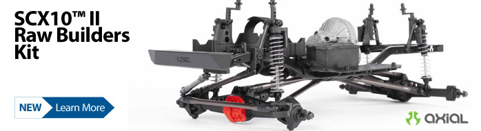 New! Axial SCX10 II Raw Builders Kit