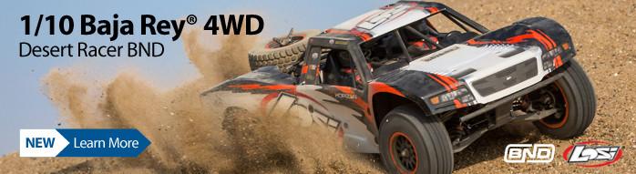 Losi 1/10 Baja Rey 4WD Desert Truck Brushless BND