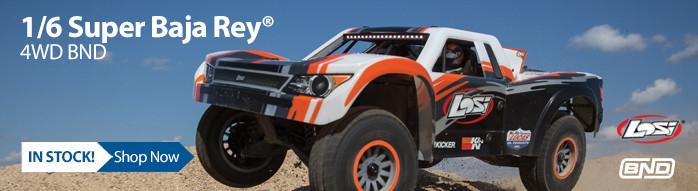 1/6 Super Baja Rey 4WD Desert Truck BND with AVC
