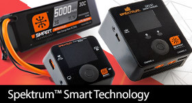 New Spektrum Smart Technology batteries and chargers