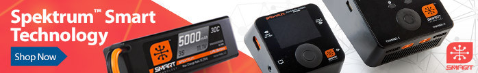 Spektrum Smart Technology - Smart RC Radio Systems, Batteries, Chargers and more