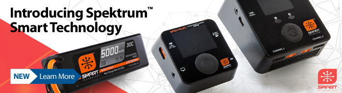 New! Spektrum Smart technology batteries and chargers
