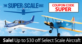 Save up to $30 on Select Aircrafts Through September 30, 2018