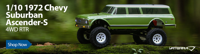 Vaterra RC 1/10 1972 Chevy Suburban Ascender-S 4WD RTR