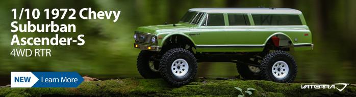 Vaterra 1/10 1972 Chevy Suburban Ascender-S 4WD RTR VTR03094