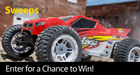 Enter for a chance to win an Losi 22S ST 2WD Brushless RTR with AVC