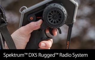 Spektrum DX5 Rugged DSMR TX mit SR515
