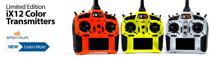 Spektrum Limited Edition iX12 Color RC Radio Transmitters