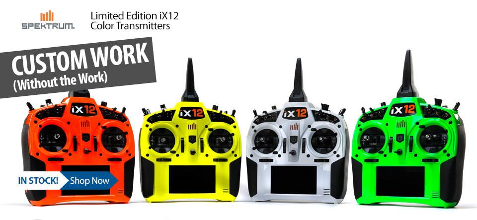 Spektrum Limited Edition iX12 Color RC Radio Transmitters