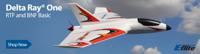 E-flite Delta Ray One with SAFE Technology, 500mm