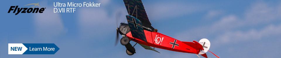 New! Flyzone Ultra Micro Fokker D.VII