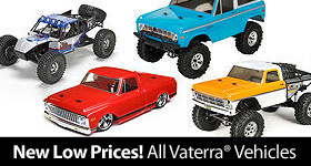 New Lower Prices on all Vaterra Brand Vehicles