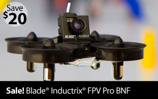 Blade Inductrix FPV Pro BNF Race Drone