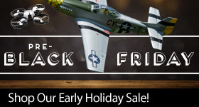 Pre-Black Friday Sale - Instantly save up to $90 on great RC products through November 19, 2018