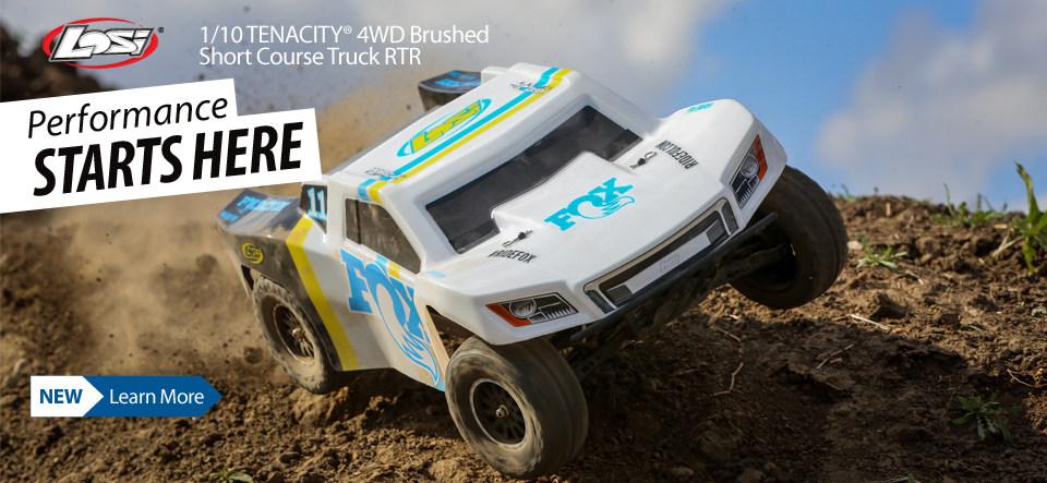 Tenacity SCT Method Fox Brushed 4WD Short Course Truck