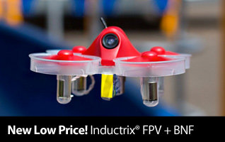 New Low Price - Get the Blade Inductrix FPV Plus BNF for only $59.99