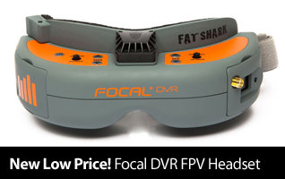 New low price! Save on the Spektrum Focal DVR FPV Headset