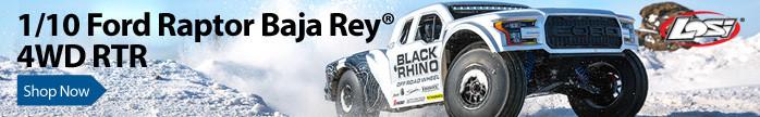 Losi Ford Raptor Baja Rey 4WD